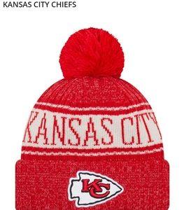 NWT-NFL Kansas City Chiefs Knit Hat